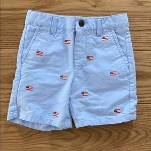 Janie and jack American flag shorts
